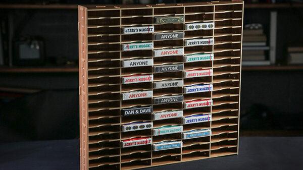 Playing Cards Wall (100 Decks) Display by TCC