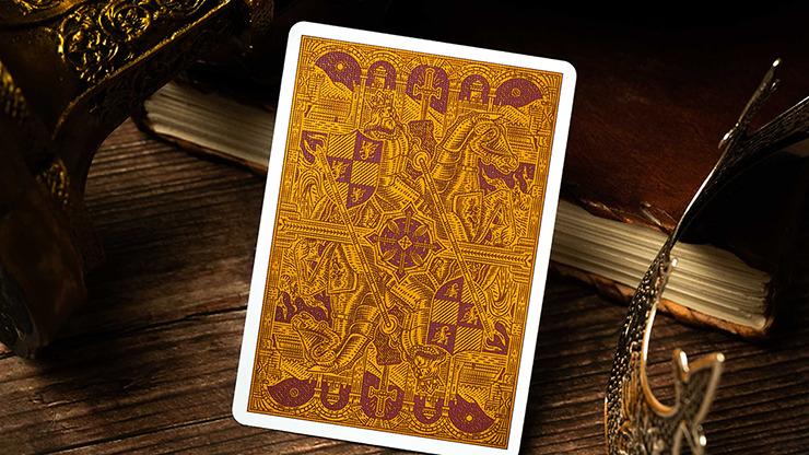 King Arthur (Carmine Cavalier) Playing Cards by Riffle Shuffle