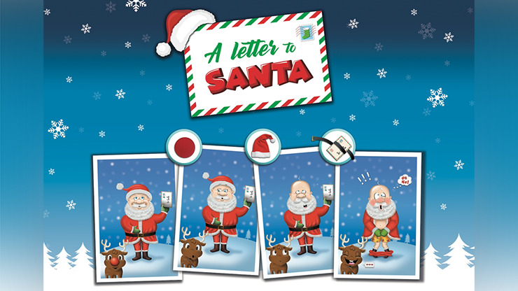 A LETTER TO SANTA by George Iglesias & Twister Magic