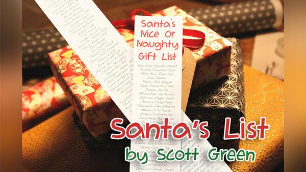 Santa's List by Scott Green