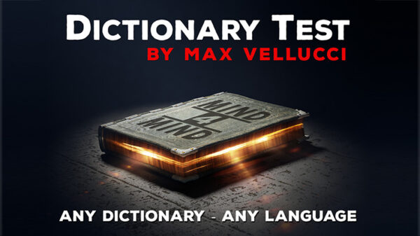 Dictionary Test by Max Vellucci video DOWNLOAD - Download