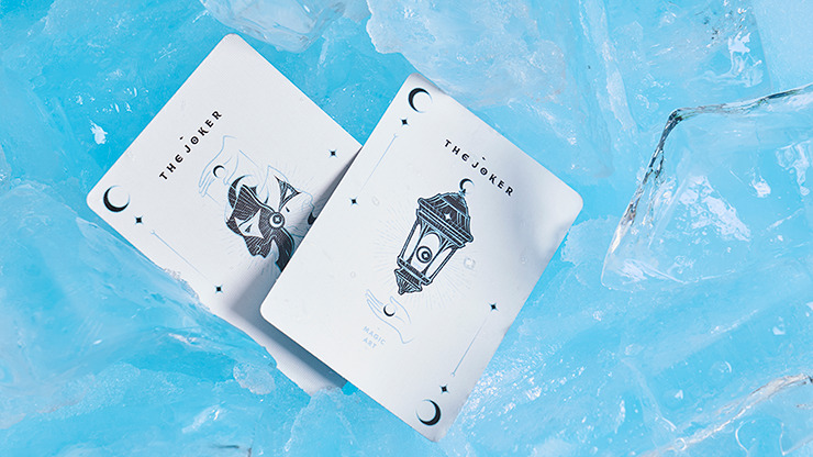 Solokid Cyan Playing Cards by Bocopo