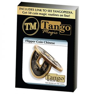 Flipper Chinese Coin Black (CH012) by Tango