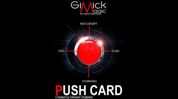 PUSH CARD (English) by Mickael Chatelain
