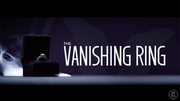 Vanishing Ring Box Black and Red Set by SansMinds