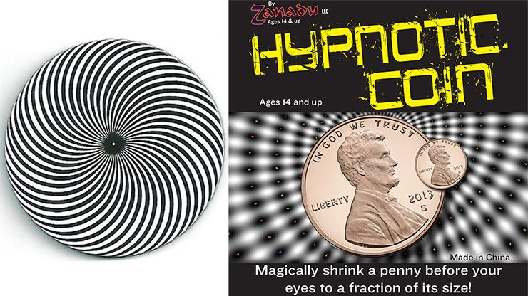Hypno Coin (Hypnotic Coin) by Zanadu Magic