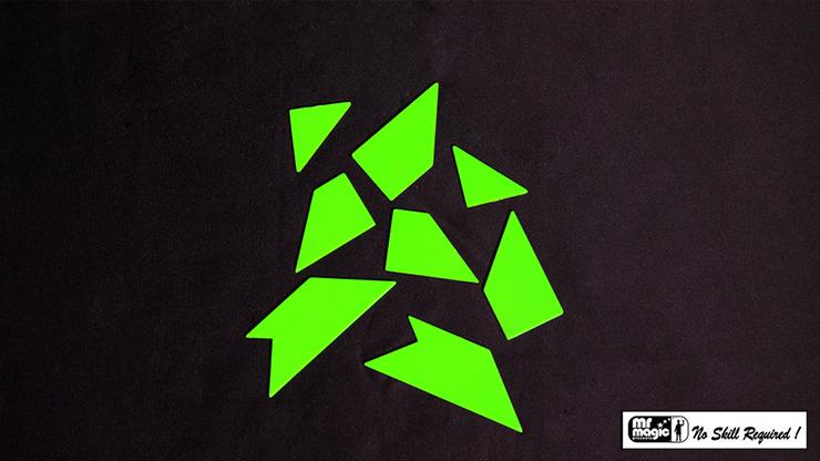 T-Puzzle (2 Sets) by Mr. Magic