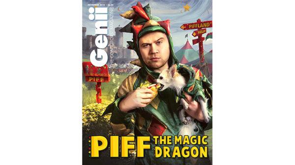 "Genii Magazine ""PIFF the Magic Dragon"" November 2018 - Book"