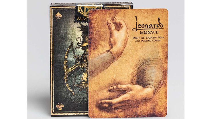 Leonardo MMXVIII Gold Edition by Art Playing Cards