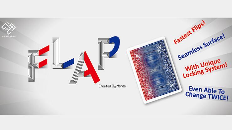 Modern Flap Card to Box (Blue) by UZ Hsieh