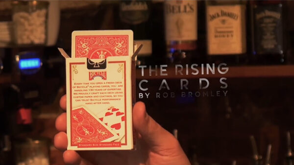Alakazam Magic Presents The Rising Cards Blue by Rob Bromley