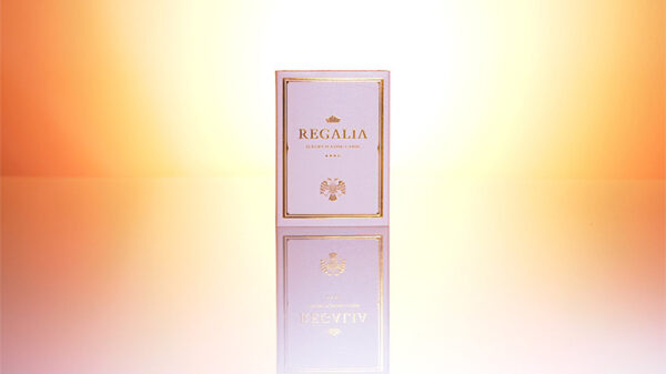 Regalia White Playing Cards by Shin Lim