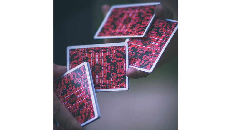 Limited Edition Untitled V2 Playing Cards by Adam Borderline