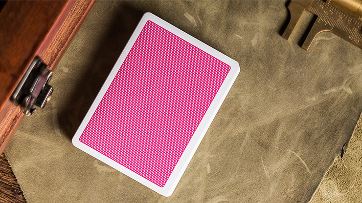 Steel Playing Cards (Pink) by Bocopo