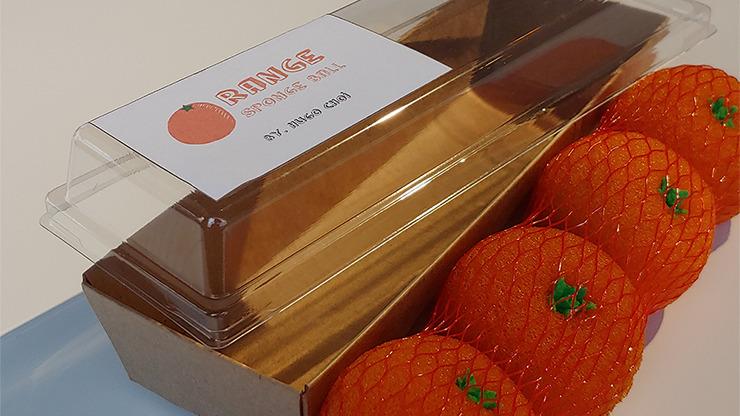 Fruit Sponge Ball (Orange) by Hugo Choi