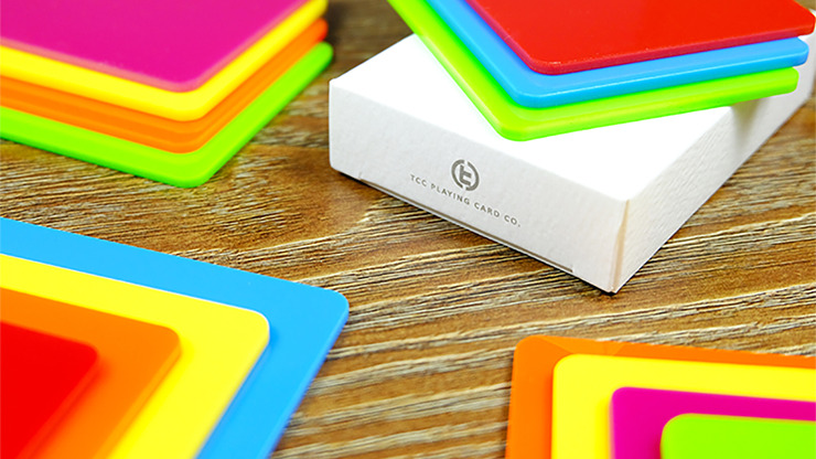 Pure Cardistry (Yellow) Training Playing Cards (7 Packets)