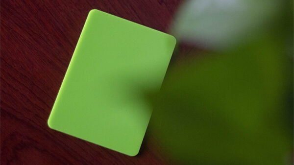 Pure Cardistry (Green) Training Playing Cards (7 Packets)