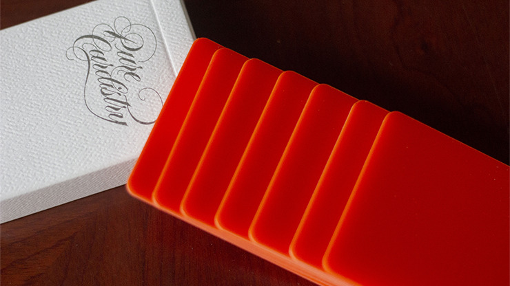 Pure Cardistry (Orange) Training Playing Cards (7 Packets)