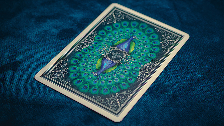 Limited Edition Peacocks Playing Cards by Rocsana Thompson