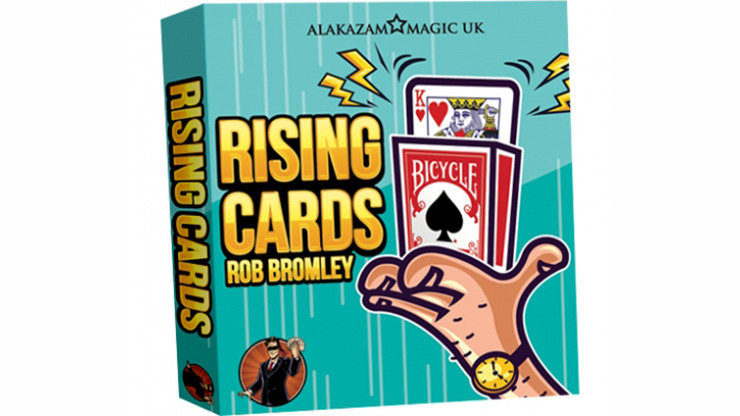 Alakazam Magic Presents The Rising Cards Red by Rob Bromley
