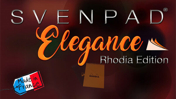 SvenPad® Elegance Rhodia® Edition (Single, Black Cover)