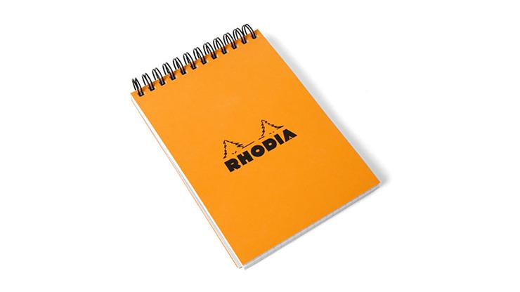 SvenPad® Elegance Rhodia® Edition (Single, Orange Cover)