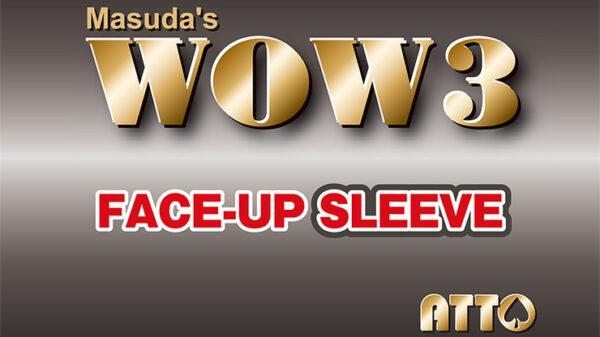 WOW 3 Face-Up Sleeve by Katsuya Masuda