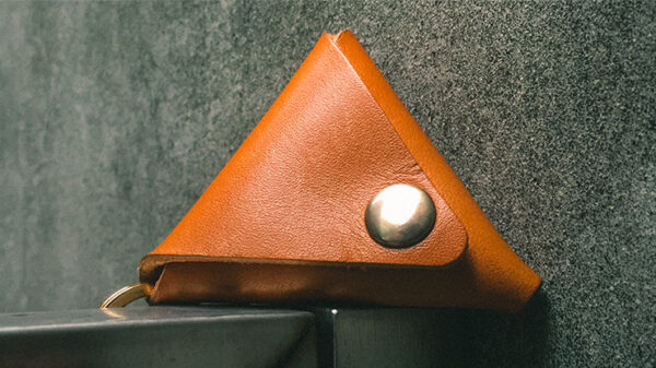 SansMinds Worker's Collection: Coin Pouch Timeless Beige (Half Dollar Size)