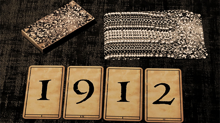 1900 Deck (Number/Marked) by Marchand de Trucs