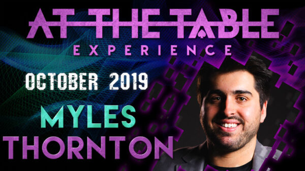At The Table Live Lecture Myles Thornton October 16th 2019 video DOWNLOAD - Download