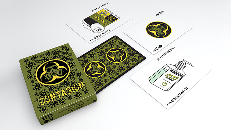 Contagion Playing Cards by Bill Davis Magic