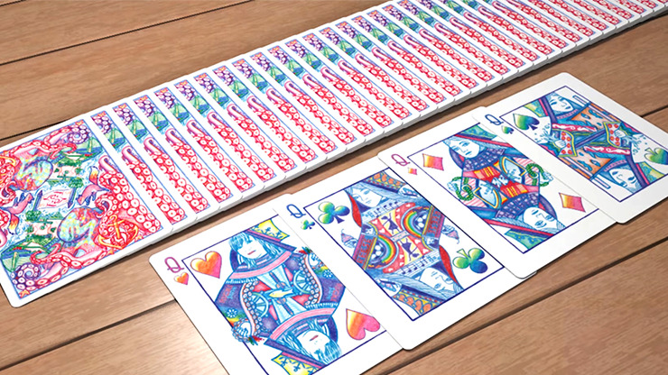 Red Fox V2 Playing Cards