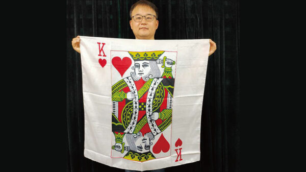 "King Card Silk 36"" by JL Magic"