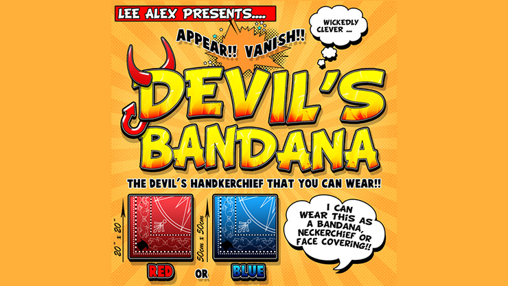 Devil's Bandana (Red) by Lee Alex