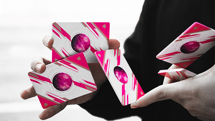 2012 VP 113 Pink Playing Cards by BOCOPO