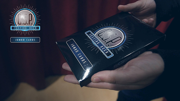 E.S.P. Jumbo Testing Cards by Vernet Magic