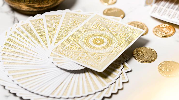 White Aurelians Playing Cards
