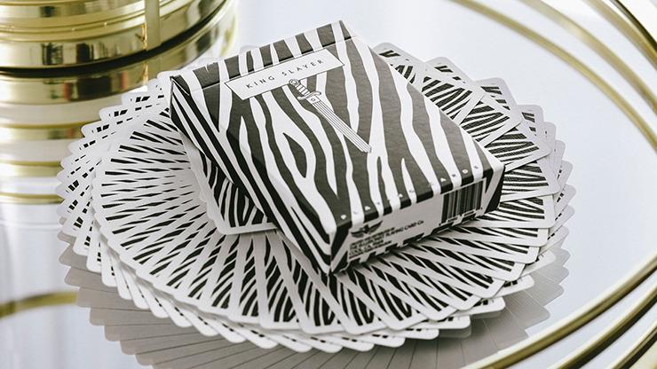 King Slayers (Zebra) Playing Cards