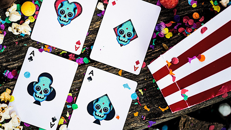 Little Deck of Horrors Playing Cards