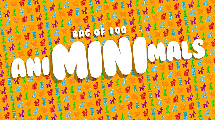 Refill for Animinimals (100 per Pack) by Billy Damon