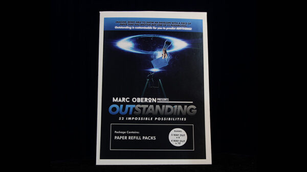 OUTSTANDING Refill Cards (Blank) by Marc Oberon