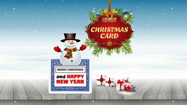 Christmas Card by Esya G mixed media DOWNLOAD - Download
