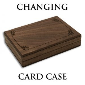 Changing Card Case (Gimmicks and Online Instruction) by Mikame