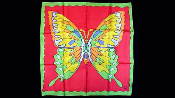 """Rice Picture Silk 18"""" (Butterfly) by Silk King Studios"""