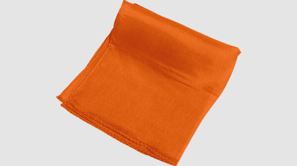 "Rice Spectrum Silk 18"" (Orange) by Silk King Studios"