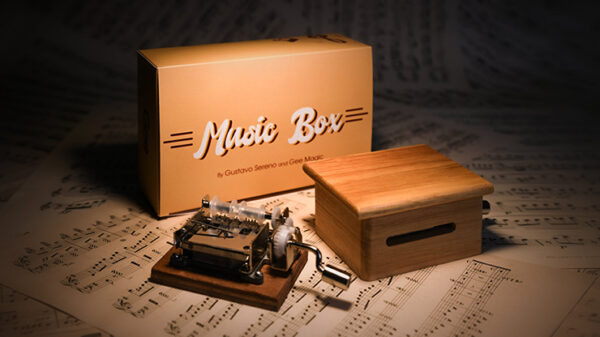 MUSIC BOX Standard (Gimmicks and Online Instruction) by Gee Magic