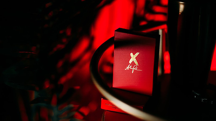 X Deck (Red) Signature Edition Playing Cards by Alex Pandrea