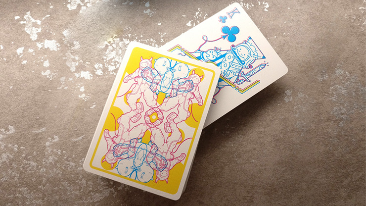 Parallel Universe Singularity Playing Cards