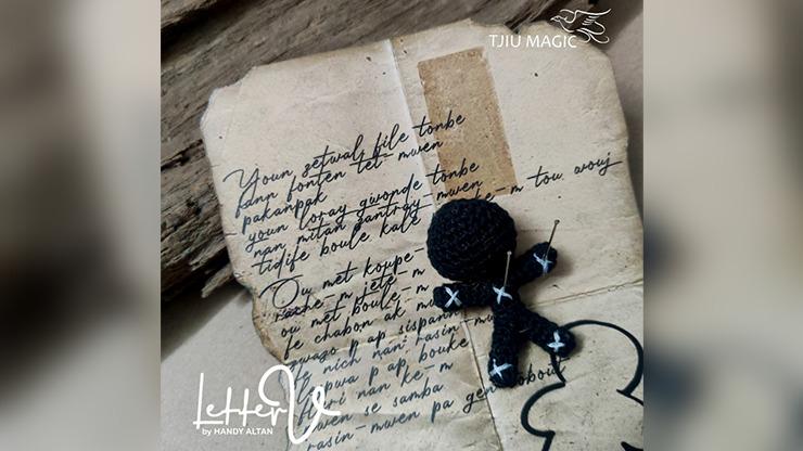 Letter V by Handy Altan -TRICK