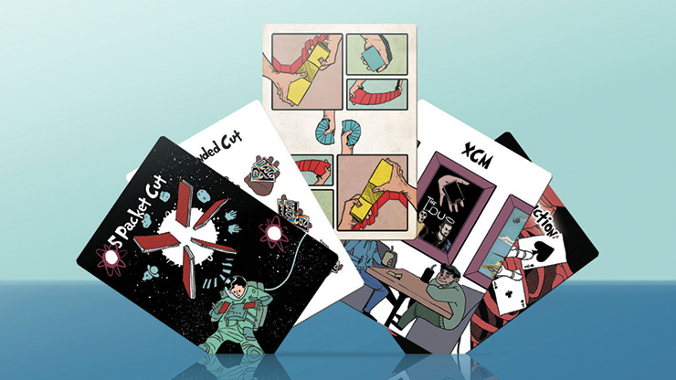Cardistry Game Playing Cards by Biz and Friends